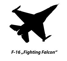 "F-16 ""Fighting Falcon"" by Julia Gutgesell"