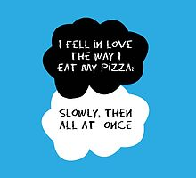 TFIOS - I fell in love the way I eat my pizza by 23connieyu