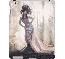 Epic fantasy girl in forest iPad Case/Skin