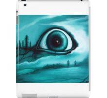 """""""Buried in the Woods"""" Creepy Eye Art by VCalderon iPad Case/Skin"""