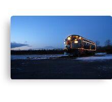 North Pole Express Canvas Print