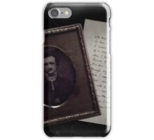 Poe and Poetry iPhone Case/Skin