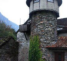 My House is my Castle. Ticino, Switzerland 2010 by Igor Pozdnyakov