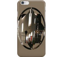 by the church door iPhone Case/Skin