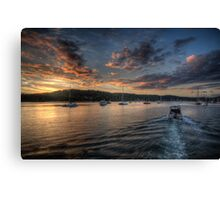 Into The Light - Newport, Sydney - The HDR Experience Canvas Print