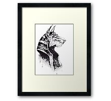 Lord Protector of the Underworld Framed Print