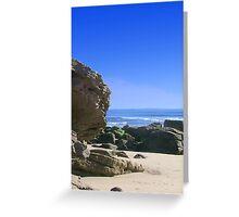 Scottish Beach in Summertime Greeting Card