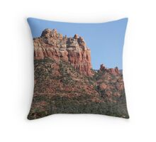 Red Rocks -- Sedona Throw Pillow