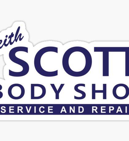 One Tree Hill - Keith Scott Body Shop Sticker