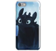 Toothless - painting iPhone Case/Skin