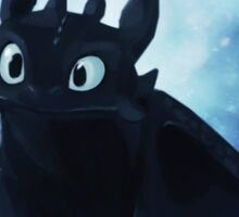 Toothless - painting Sticker