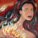 Mahuika - Fire Goddess by Ira Mitchell-Kirk