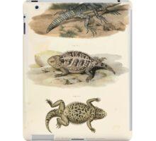 Joseph Fitzinger 1867 0043 Picture Atlas for popular scientific natural history of vertebrates iPad Case/Skin