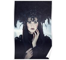 Beautiful gothic woman Poster