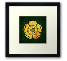 Gold Rose Framed Print