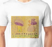 Folk Art Fairy Unisex T-Shirt