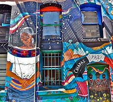 North Beach Mural, San Francisco, CA by Scott Johnson