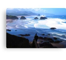 View from Ecola Canvas Print