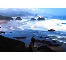 View from Ecola Photographic Print