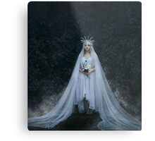 Dark fantasy woman Metal Print