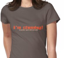 i'm cheeky! Womens Fitted T-Shirt