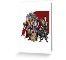 Dragon Age Origins: Lineup Greeting Card