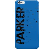 Parker Spider - Black iPhone Case/Skin