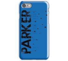 Parker Spider - Black iPhone Case/Skin