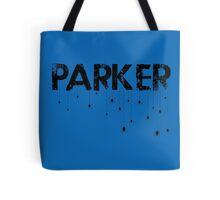 Parker Spider - Black Tote Bag