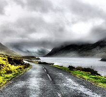 Mist over Connermara Mountains- Ireland by joshuatree2