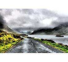 Mist over Connermara Mountains- Ireland Photographic Print