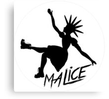 Malice Magazine Logo Canvas Print