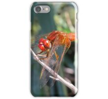 Edited orange dragonfly iPhone Case/Skin
