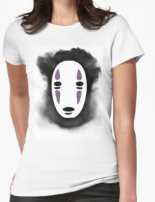 Smokey No-Face (Spirited Away) Womens Fitted T-Shirt