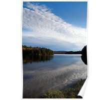Reflections in Algonquin Park Poster