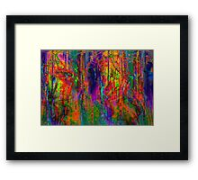 Future Vision Framed Print