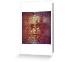 humanoid Greeting Card