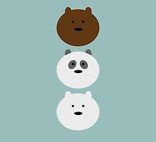 We Bare Bears by Morware