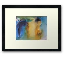 An Empty Place Framed Print