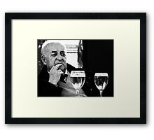 One for me...two for me.. Framed Print