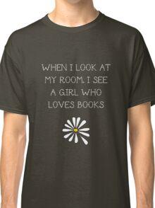 LFA - A girl who loves books Classic T-Shirt