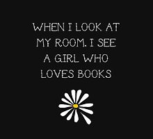LFA - A girl who loves books Unisex T-Shirt