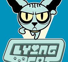 Lying Cat Powerpuff by BovaArt