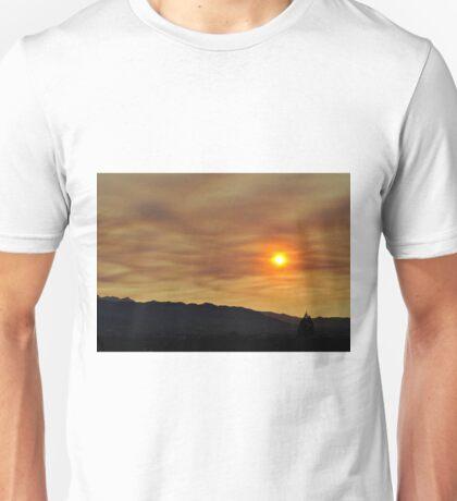 Smokey Desert Sunset Unisex T-Shirt