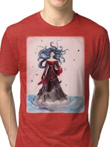 Floating on water Tri-blend T-Shirt