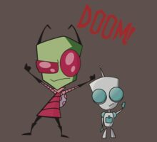 Invader Zim and Gir - Doom! by BlueMonkey3000