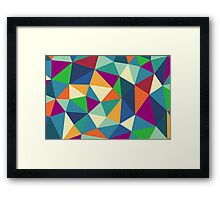 Triangle Tangle: Second Edition Framed Print