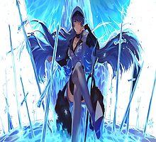 Akame Ga Kill: Esdeath 2 by ZetsumeiArashi