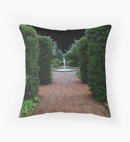 Path to Wonderland Throw Pillow