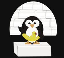 Penguin in Alaska Kids Clothes